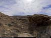 Panorama: red rock formations