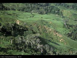 Deforestation and erosion, Costa Rica
