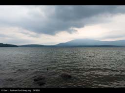 Ashokan Reservoir supplying NY City water
